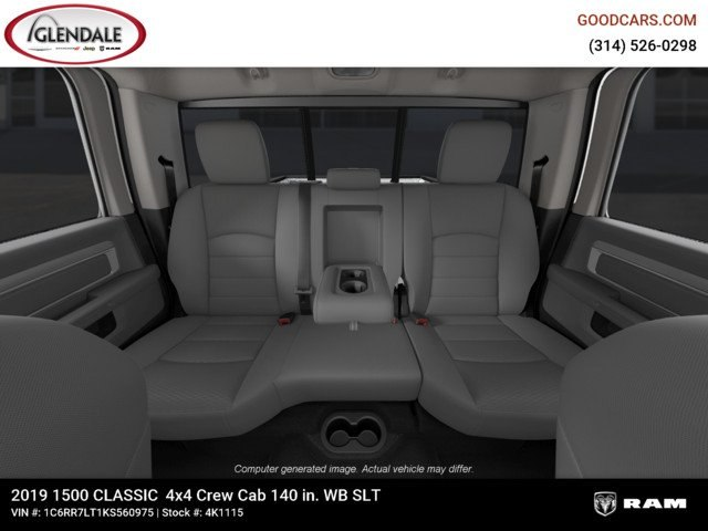 2019 Ram 1500 Crew Cab 4x4,  Pickup #4K1115 - photo 19