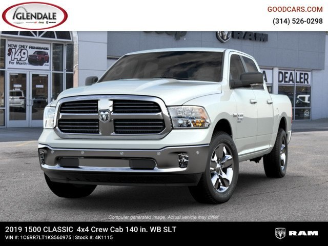 2019 Ram 1500 Crew Cab 4x4,  Pickup #4K1115 - photo 4