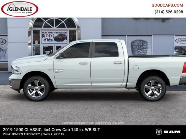 2019 Ram 1500 Crew Cab 4x4,  Pickup #4K1115 - photo 5