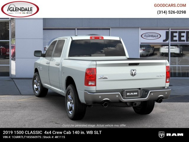 2019 Ram 1500 Crew Cab 4x4,  Pickup #4K1115 - photo 2