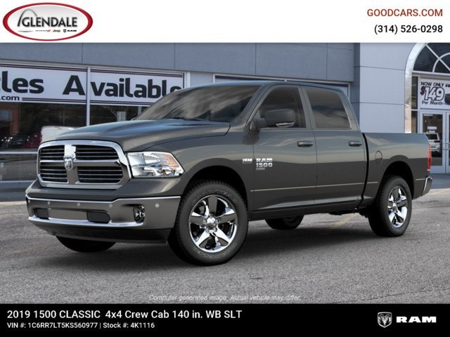 2019 Ram 1500 Crew Cab 4x4,  Pickup #4K1116 - photo 1