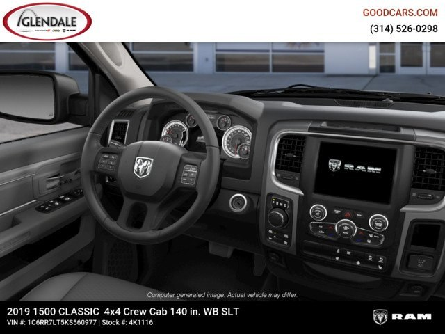 2019 Ram 1500 Crew Cab 4x4,  Pickup #4K1116 - photo 14
