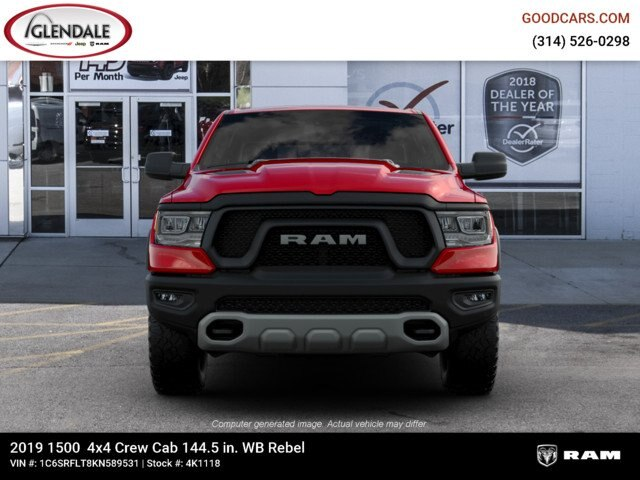 2019 Ram 1500 Crew Cab 4x4,  Pickup #4K1118 - photo 3