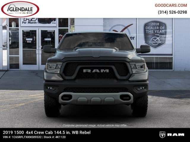 2019 Ram 1500 Crew Cab 4x4,  Pickup #4K1120 - photo 5
