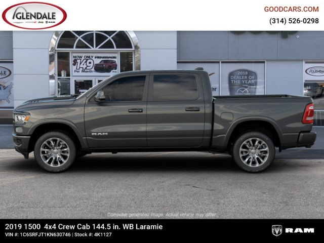 2019 Ram 1500 Crew Cab 4x4,  Pickup #4K1127 - photo 5
