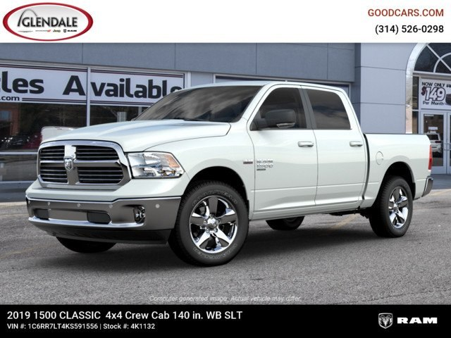 2019 Ram 1500 Crew Cab 4x4,  Pickup #4K1132 - photo 1