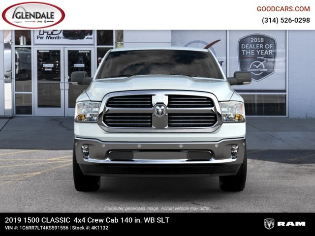 2019 Ram 1500 Crew Cab 4x4,  Pickup #4K1132 - photo 3