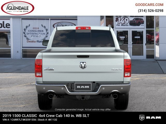 2019 Ram 1500 Crew Cab 4x4,  Pickup #4K1132 - photo 7