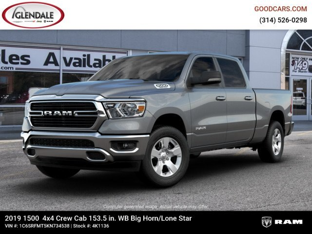 2019 Ram 1500 Crew Cab 4x4,  Pickup #4K1136 - photo 1