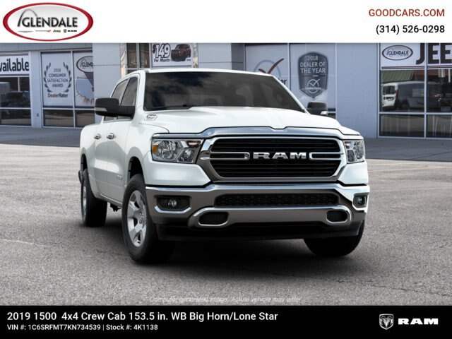 2019 Ram 1500 Crew Cab 4x4,  Pickup #4K1138 - photo 18