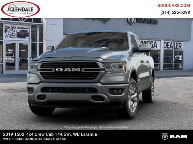 2019 Ram 1500 Crew Cab 4x4,  Pickup #4K1139 - photo 4