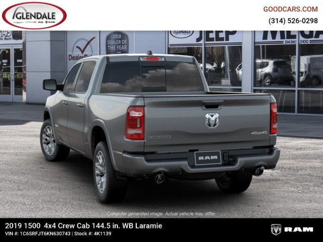 2019 Ram 1500 Crew Cab 4x4,  Pickup #4K1139 - photo 6