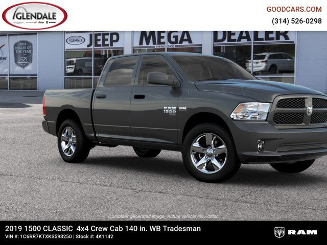 2019 Ram 1500 Crew Cab 4x4,  Pickup #4K1142 - photo 11