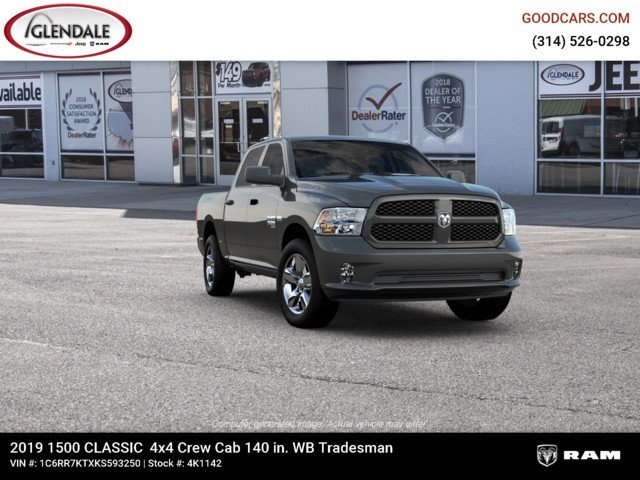 2019 Ram 1500 Crew Cab 4x4,  Pickup #4K1142 - photo 12