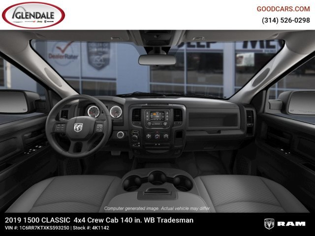 2019 Ram 1500 Crew Cab 4x4,  Pickup #4K1142 - photo 13