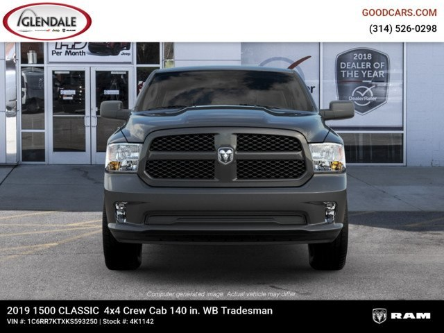2019 Ram 1500 Crew Cab 4x4,  Pickup #4K1142 - photo 3