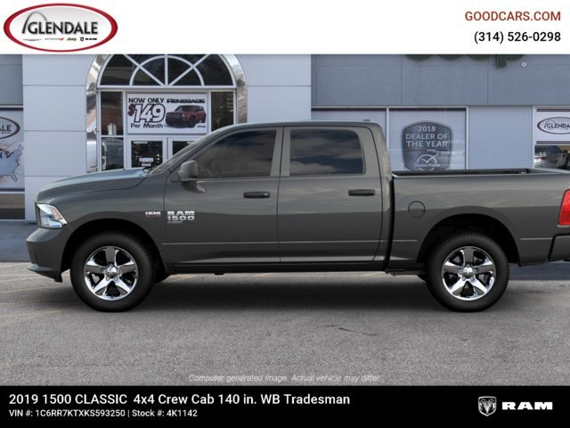 2019 Ram 1500 Crew Cab 4x4,  Pickup #4K1142 - photo 5