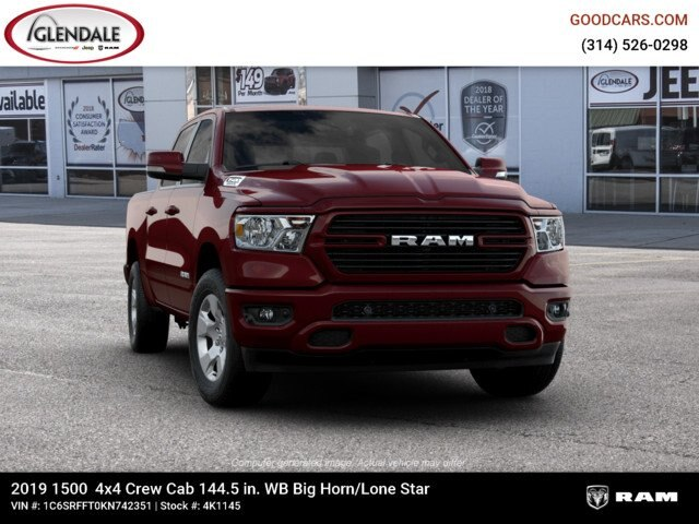 2019 Ram 1500 Crew Cab 4x4,  Pickup #4K1145 - photo 12