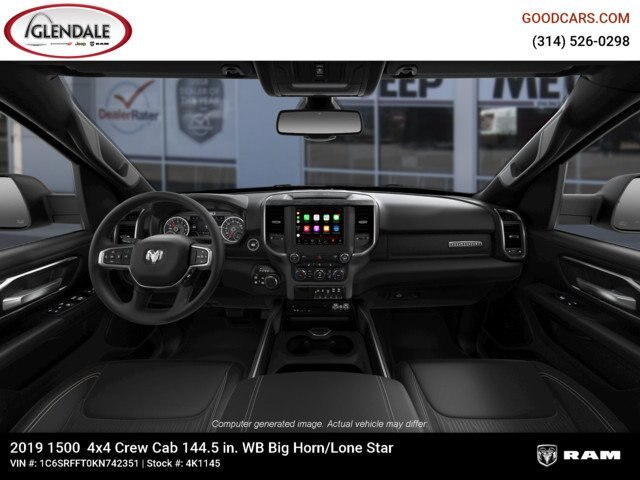 2019 Ram 1500 Crew Cab 4x4,  Pickup #4K1145 - photo 15