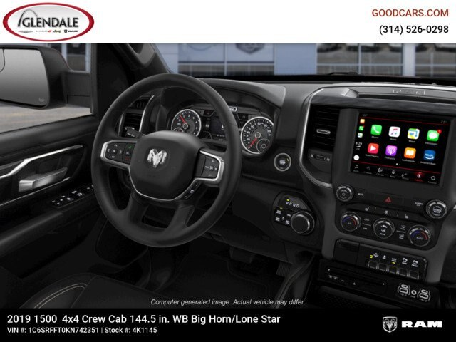 2019 Ram 1500 Crew Cab 4x4,  Pickup #4K1145 - photo 17