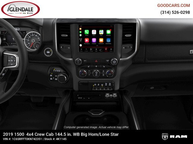 2019 Ram 1500 Crew Cab 4x4,  Pickup #4K1145 - photo 19
