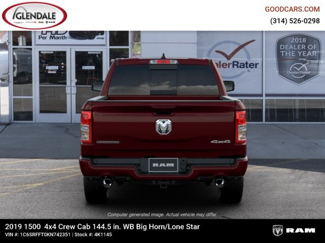 2019 Ram 1500 Crew Cab 4x4,  Pickup #4K1145 - photo 7