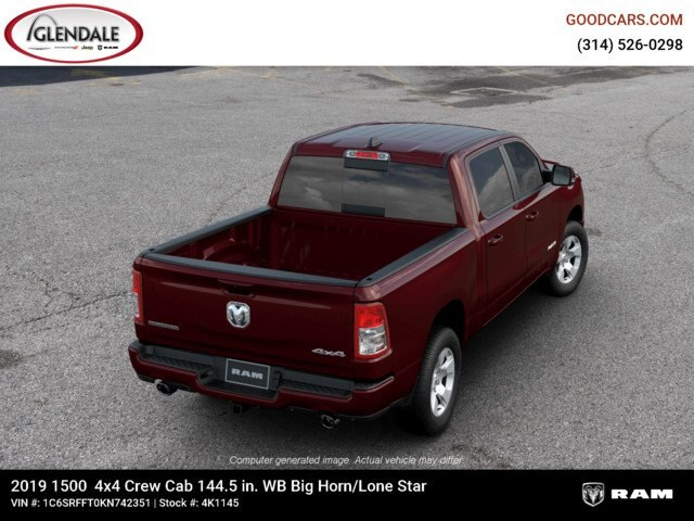 2019 Ram 1500 Crew Cab 4x4,  Pickup #4K1145 - photo 8