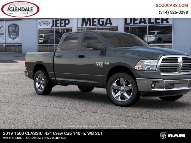 2019 Ram 1500 Crew Cab 4x4,  Pickup #4K1153 - photo 11