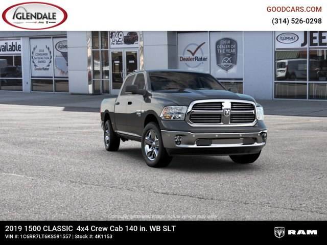 2019 Ram 1500 Crew Cab 4x4,  Pickup #4K1153 - photo 12