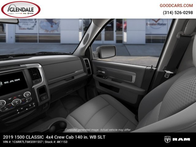 2019 Ram 1500 Crew Cab 4x4,  Pickup #4K1153 - photo 17