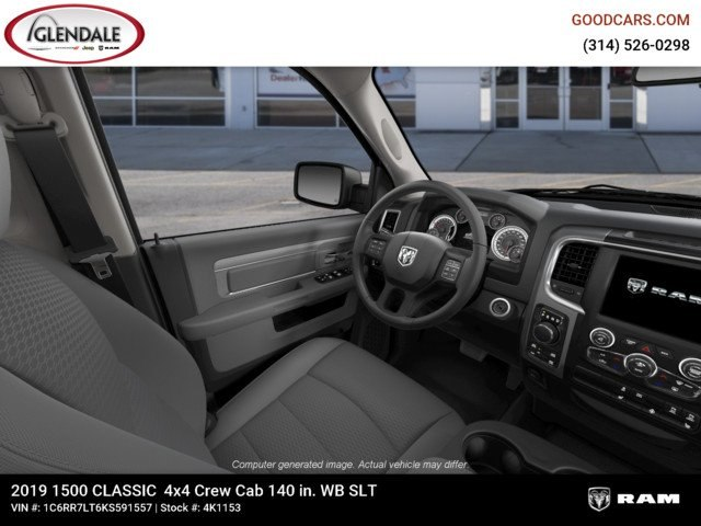 2019 Ram 1500 Crew Cab 4x4,  Pickup #4K1153 - photo 18