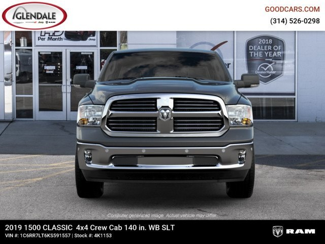 2019 Ram 1500 Crew Cab 4x4,  Pickup #4K1153 - photo 3