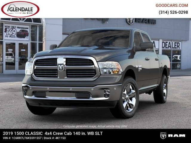 2019 Ram 1500 Crew Cab 4x4,  Pickup #4K1153 - photo 4