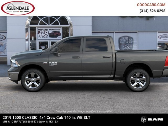2019 Ram 1500 Crew Cab 4x4,  Pickup #4K1153 - photo 5