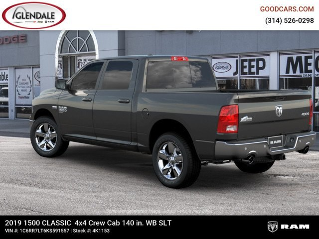 2019 Ram 1500 Crew Cab 4x4,  Pickup #4K1153 - photo 2