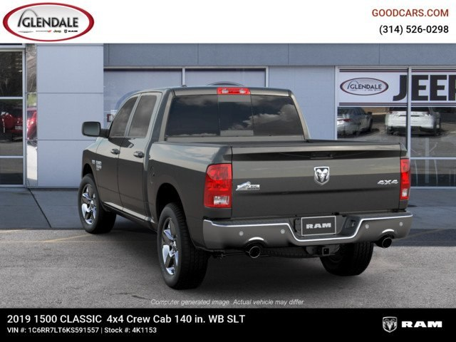 2019 Ram 1500 Crew Cab 4x4,  Pickup #4K1153 - photo 6