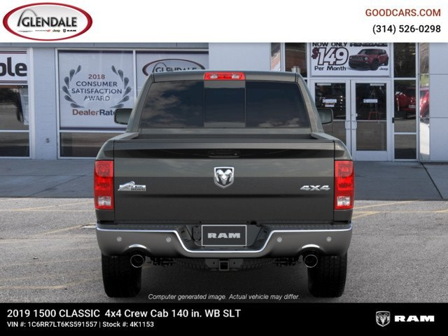 2019 Ram 1500 Crew Cab 4x4,  Pickup #4K1153 - photo 7