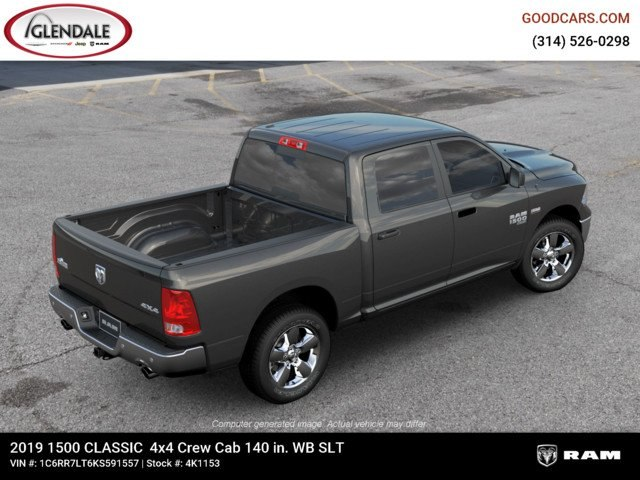 2019 Ram 1500 Crew Cab 4x4,  Pickup #4K1153 - photo 9