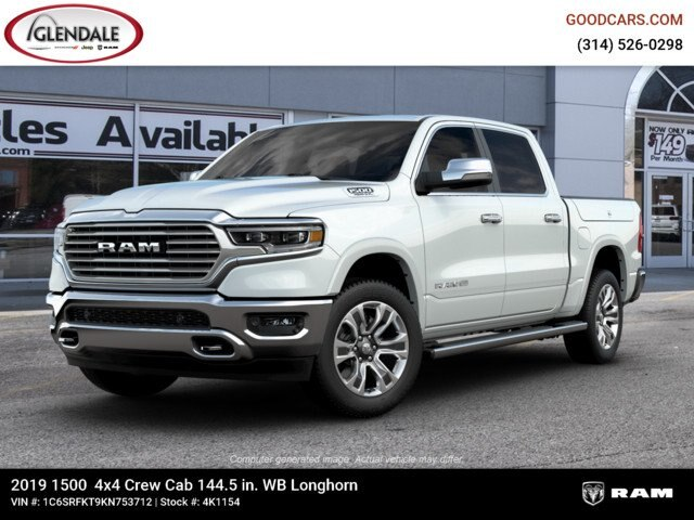2019 Ram 1500 Crew Cab 4x4,  Pickup #4K1154 - photo 1