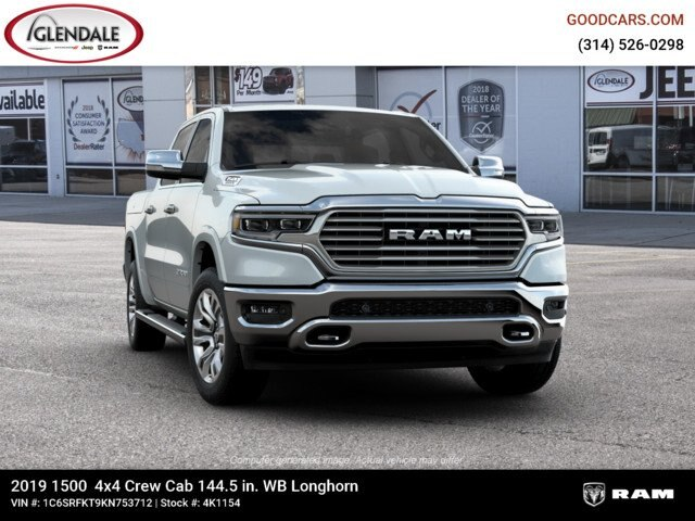 2019 Ram 1500 Crew Cab 4x4,  Pickup #4K1154 - photo 12