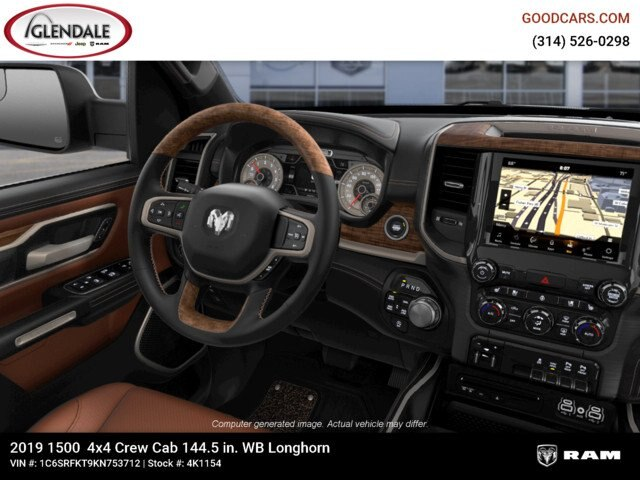 2019 Ram 1500 Crew Cab 4x4,  Pickup #4K1154 - photo 17