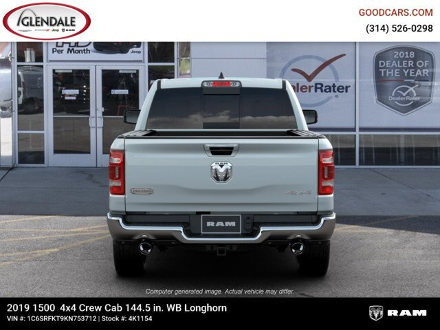 2019 Ram 1500 Crew Cab 4x4,  Pickup #4K1154 - photo 7
