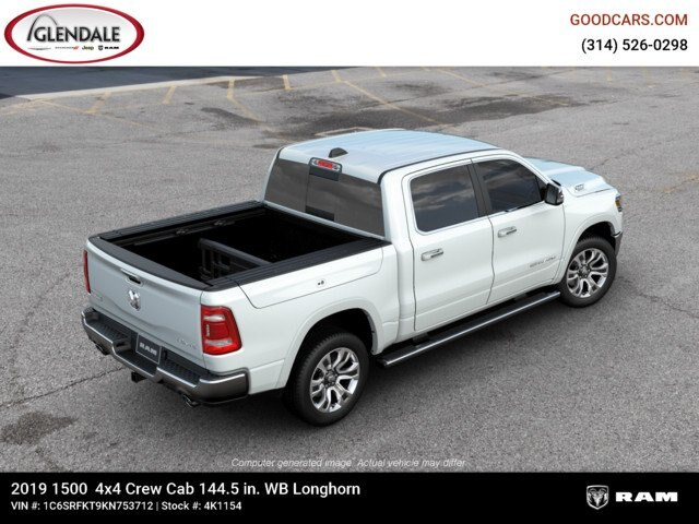 2019 Ram 1500 Crew Cab 4x4,  Pickup #4K1154 - photo 9