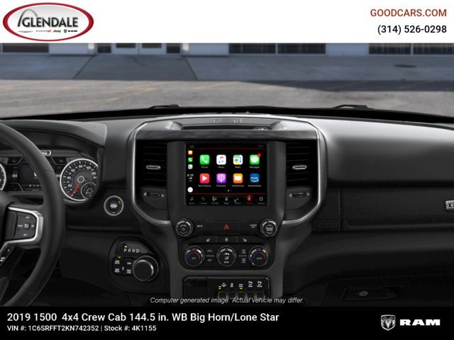 2019 Ram 1500 Crew Cab 4x4,  Pickup #4K1155 - photo 13