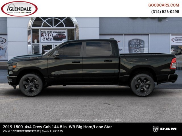 2019 Ram 1500 Crew Cab 4x4,  Pickup #4K1155 - photo 5