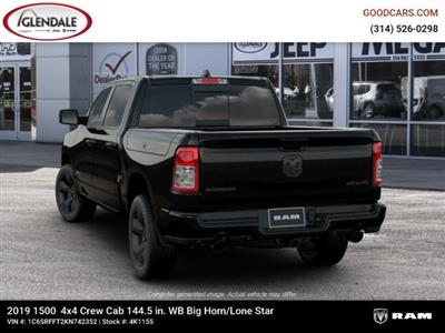 2019 Ram 1500 Crew Cab 4x4,  Pickup #4K1155 - photo 6