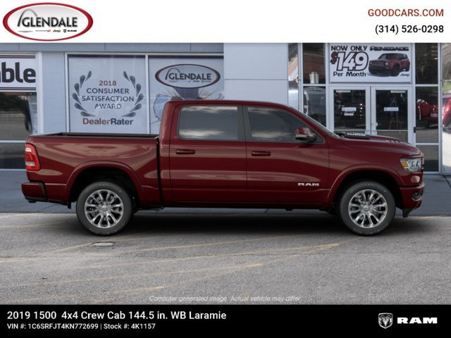2019 Ram 1500 Crew Cab 4x4,  Pickup #4K1157 - photo 10