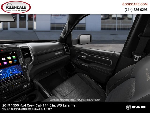 2019 Ram 1500 Crew Cab 4x4,  Pickup #4K1157 - photo 17