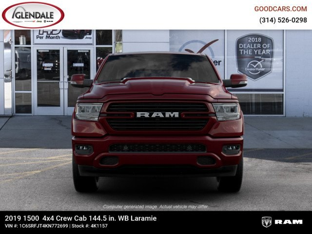 2019 Ram 1500 Crew Cab 4x4,  Pickup #4K1157 - photo 3