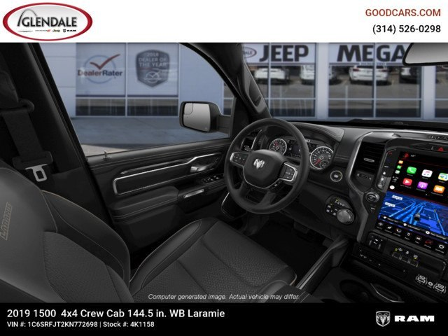 2019 Ram 1500 Crew Cab 4x4,  Pickup #4K1158 - photo 18